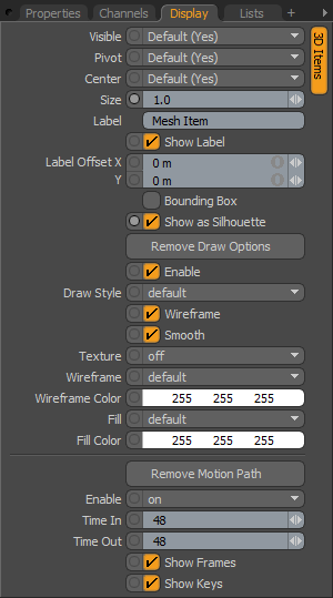 modo 601 Inline Help System